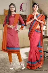 Uniform Sarees And Salwar Kameez Combo For Teachers