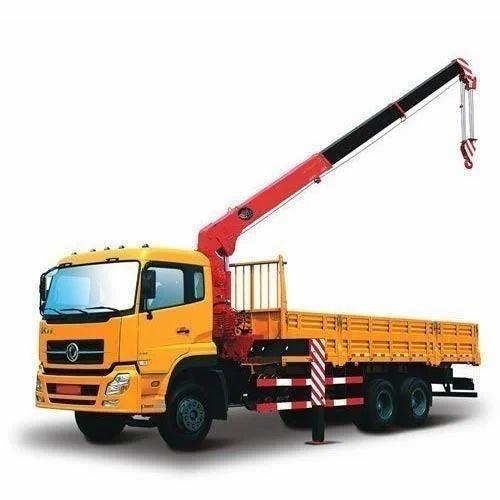 Heavy Duty Truck Mounted Crane, Capacity: 20-25 Ton, Rs 350000 ...