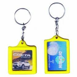ABS Crystal Keychain