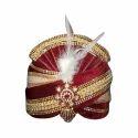 Velvet Wedding Turban