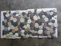 Mix Colour Pebble Stone Mosaic Tile