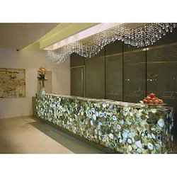 Agate Gemstone Counter Top, Thickness: 2.5-25 Mm