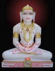 Marble Bhagwan Statue