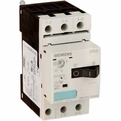 Three Phase Siemens Mpcb 3rv1011 1ka10 Motor Starter Protector Rs 1100 Piece Id 20501891055