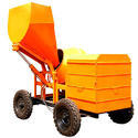 Mild Steel Concrete Mixer Machine With Hopper