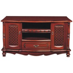 Designer Wooden TV Stand