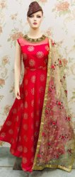 Designer Dupatta Anarkali Party Suits