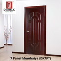 DK-7PT 7 Panel Mumbaiya Moulded Wooden Door