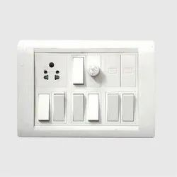 6 Amp Electrical Switch Board, 7, 1