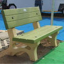 Outdoor Cement Bench