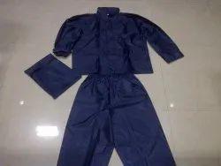 Polyester Men PVC Rain Coat