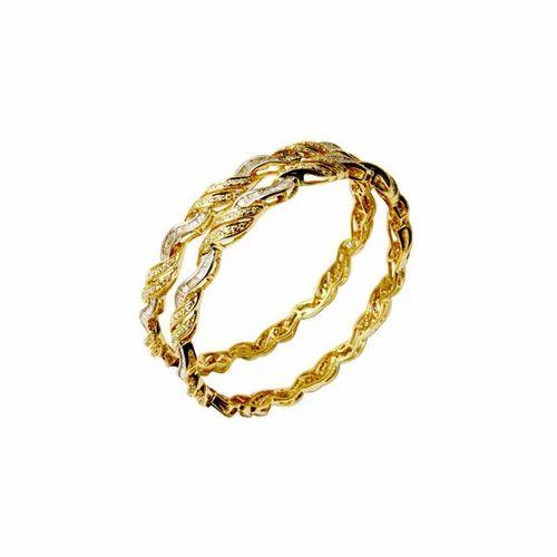 4716e444e53 Diamond Pave Setting Bangles Jewelry at Rs 185000 /pair | Diamond ...