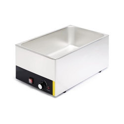 Stainless Steel Lpg ELECTRIC BAIN MARIE 1/1, 48x24x34 Inch