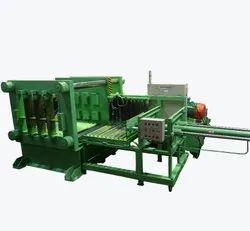 Horizontal Multi Blade Rubber Cutting Machine