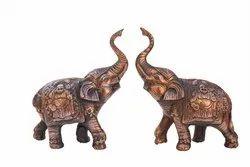 Elephant Pair for Home Decor and Showpiece