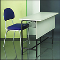 Wood, Fabric, Plastic, Metal Stylish Institutional Furniture
