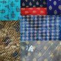 Gold Print Rayon Fabric