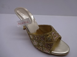 Ladies Fancy High Heels Chappal