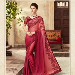 Beautiful Fancy Silk Border Saree