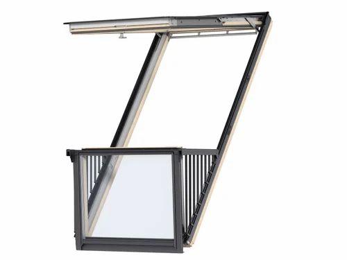 Velux Cabrio Balcony Window at Rs 475000 /sqft   Window ...