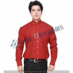Fab Uniforms Red Resort Shirt