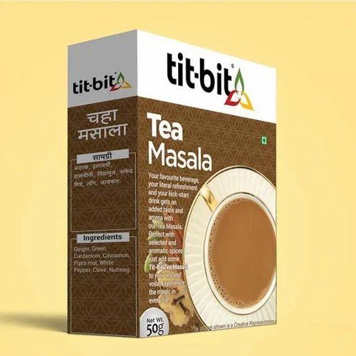Tit Bit Tea Masala, 50 Gms, Powder