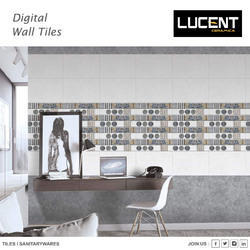 Lo22 White Ordinary Dark Wall Tiles, 7.75 Sq. Ft., Packaging Type: Box