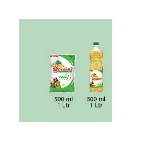 Cargill Refined Soyabean Oil - Cargill Gemini 500 ml Refined