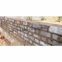 Rectangular Grey Concrete Brick, Size (Inches): 9 In. X 4 In. X 3 Inch