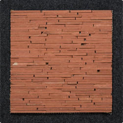 Random Strip Pattern Wall Cladding