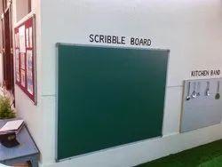 Green Non Magnetic Chalk Board