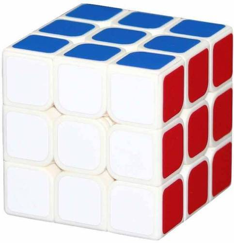 save up to 80% how to buy sale usa online 3x3 Qiyi Rubiks Cube White Background Puzzle Toy