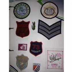 Printed Woven Labels for Garments, Packaging Type: Packet
