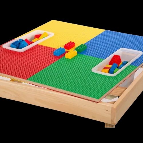 Standard Multicolor Lego Table For, Lego Table With Chairs India