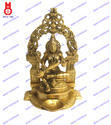 Saraswati Sitting W/Yelli Ring & Deeva Statues