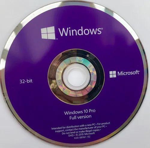 windows 10 pro - full version 32 & 64-bit