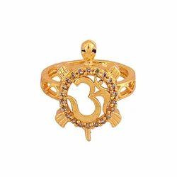 Zircon Kachua Om Ring