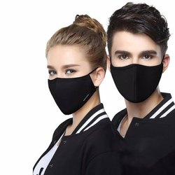 Craftx Plain Cotton Anti_Pollution Mask