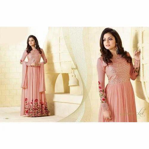 025e6ac9a87 Designer Party Wear Anarkali Suit