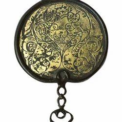 Iron Primitive Egyptian Mirror