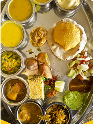 Gujrati Food Thali