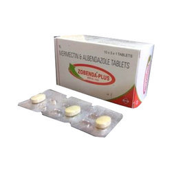 Ivermectin Tablets, 1 Tab/ Strip ,Packaging Type: Blister