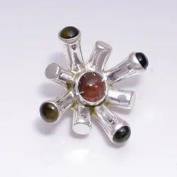 Touramline 925 Sterling Silver Pendant