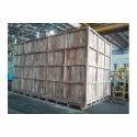 Rectangular Rubber Wood Box