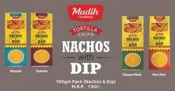 MUDIH EXCELLENCY Nachos, Packaging Size: 100 Gram