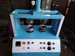 Double Die Pattal Dona Making Machine