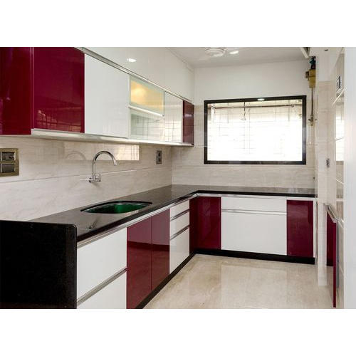 L Shape Modular Kitchen Interior Designing Services India Only Id 19613588233