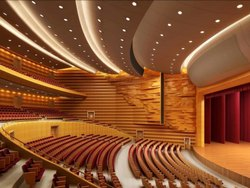Auditorium Interior Designing