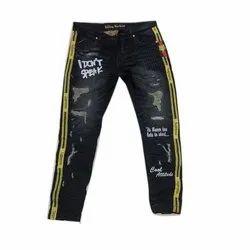Casual Wear Stretchable Kids Denim Jeans, Machine wash