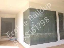 prominance Casement corner window upvc, Size/Dimension: 2400 X 2400, Glass Thickness: 10MM